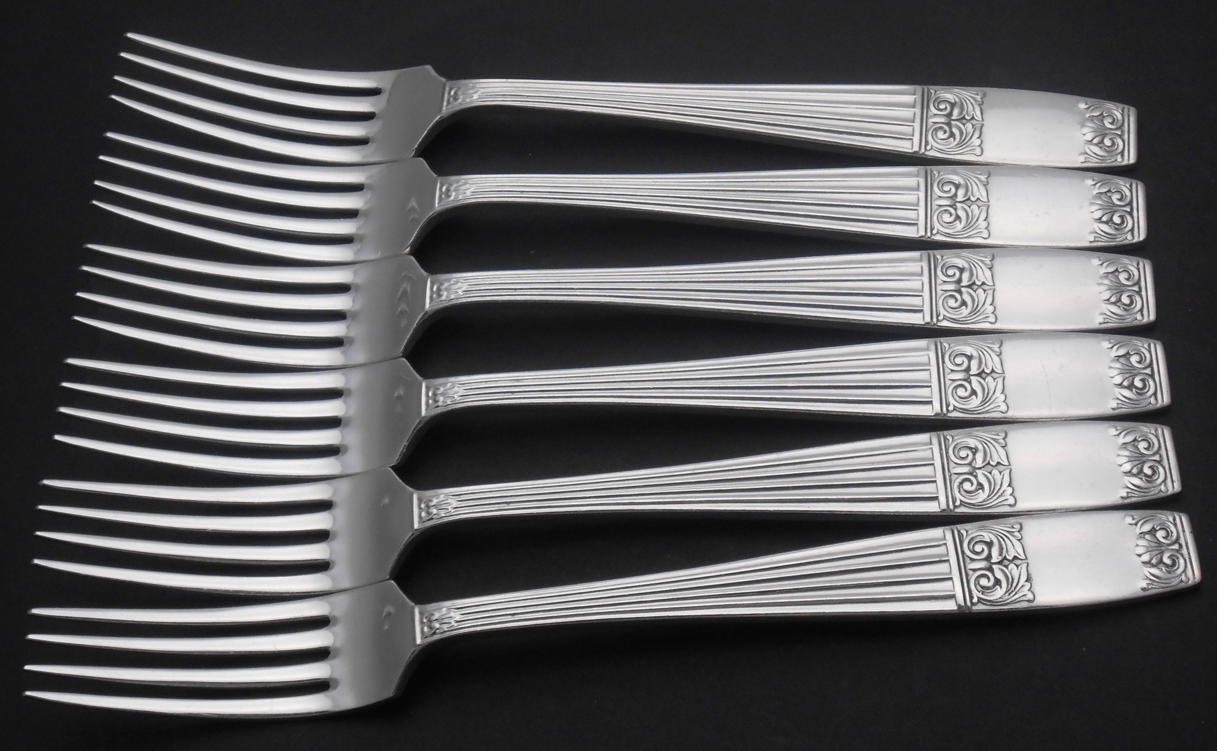 Elkington Westminster pattern cutlery / flatware